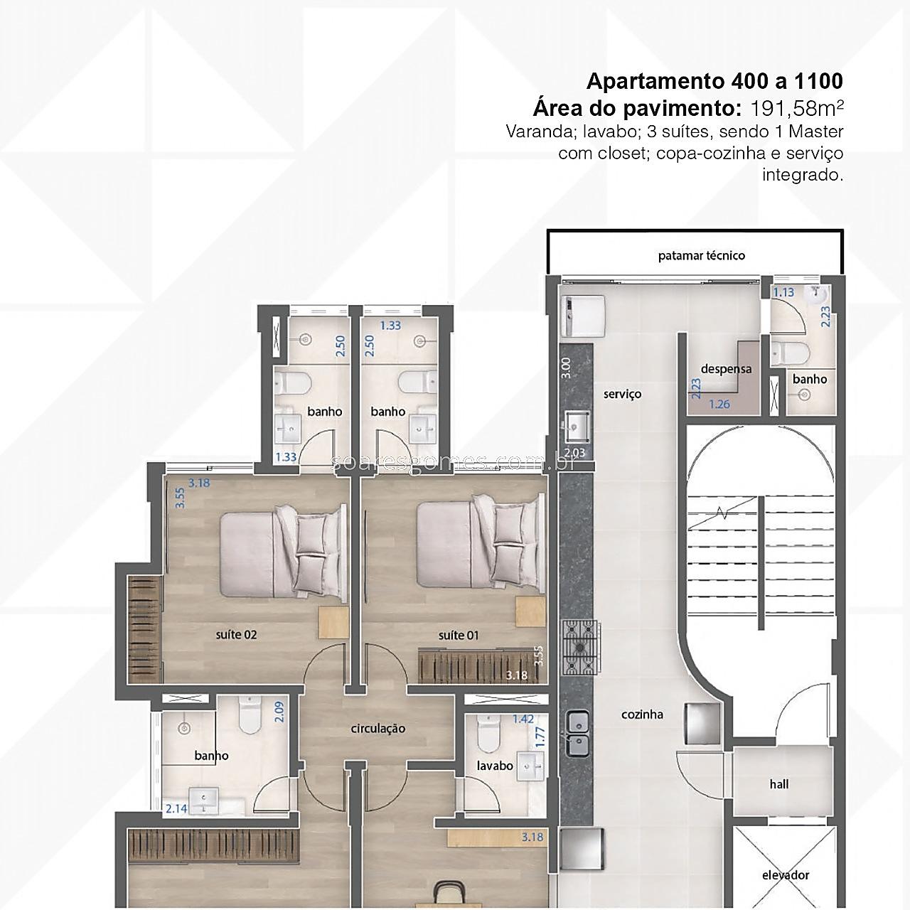 Apartamento à venda em Bom Pastor, Juiz de Fora - MG - Foto 7