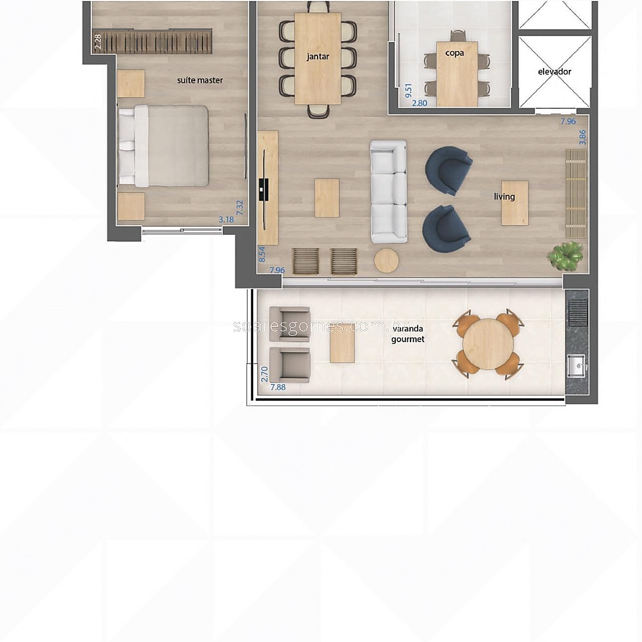 Apartamento à venda em Bom Pastor, Juiz de Fora - MG - Foto 8