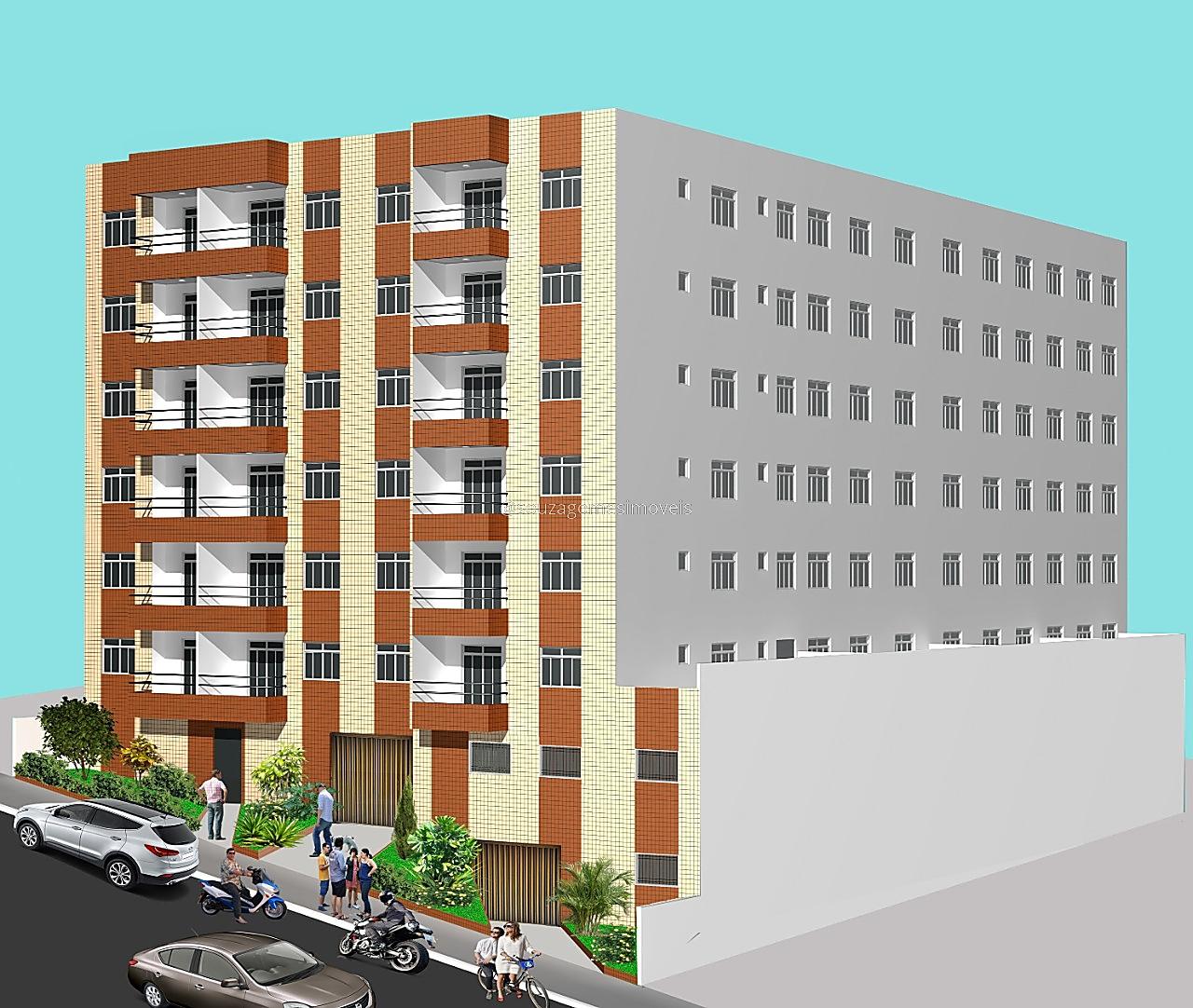 Ref.: 2107 - Apart. 2 qtos - Centro
